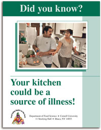 Did you Know? Your kitchen could be a source of illness! cover