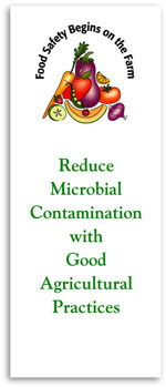 Reduce Microbial Risks with Good Agricultural Practices brochure cover