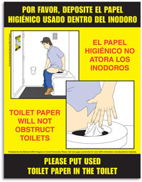 Bathroom Signs English And Spanish educational materials | national good agricultural practices program